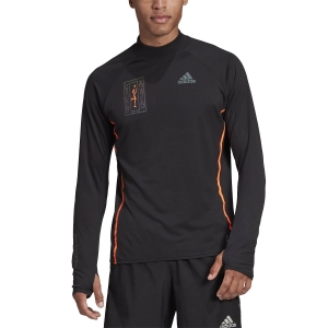 Camisetas Running Hombre Adidas Reflective Camisa  Black FP8123