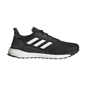 Zapatillas Running Neutras Hombre Adidas Solarboost 19  Core Black/Cloud White/Signal Green FW7814