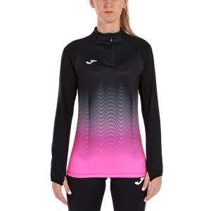 Joma Elite VII Shirt - Black/Pink