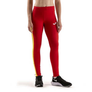 Joma Elite VII Tights - Red/Yellow