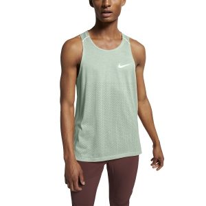 Men's Running Sleeveless Nike Breathe Rise 365 Tank  Pistachio Frost/Reflective Silver AQ9917321