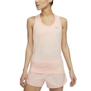 Canotta Running Donna Nike Infinite Canotta  Washed Coral/Reflective Silver BV3909664