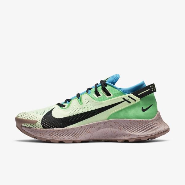 Nike Pegasus Trail 2 Barely VoltBlackLaser Blue
