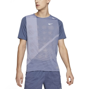 Men's Running T-Shirt Nike Rise 365 Future Fast TShirt  Diffused Blue/Reflective Silver CJ5688491