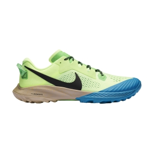 Scarpe Trail Running Uomo Nike Air Zoom Terra Kiger 6  Barely Volt/Black/Poison Green CJ0219700