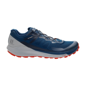 Men's Trail Running Shoes Salomon Sense Ride 3 GTX  Poseidon/Pearl Blue/Cherry Tomato L40975200