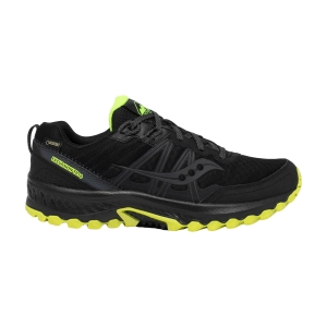 Saucony Excursion TR14 GTX - Black/Citron