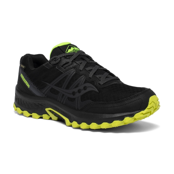 Saucony Excursion TR14 GTX Scarpe Trail Running Uomo Black