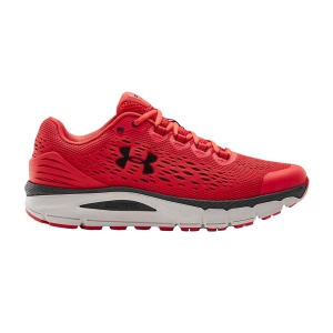 Under Armour Charged Intake 4 - Versa Red/Halo Gray/Blackout Purple