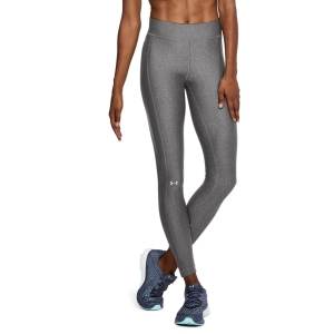 Pants e Tights Fitness e Training Donna Under Armour HeatGear Tights  Charcoal Light Heather/Metallic Silver 13096310019