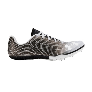 Zapatillas Competición Hombre Under Armour Kick Sprint 3  Black/Mod Gray/White 30220020001
