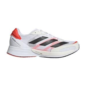 adidas Adizero Adios 6 - Ftwr White/Core Black/Solar Red