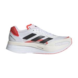 adidas Adizero Boston 10 - Ftwr White/Core Black/Solar Red