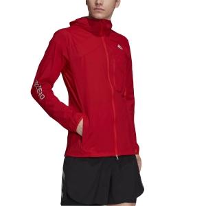 adidas Adizero Marathon Jacket - Vivid Red