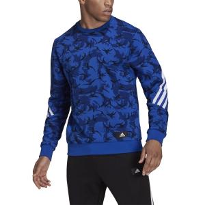 adidas Future Icons Camo Hoodie - Multicolor/Bold Blue