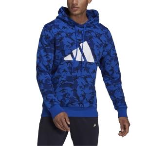 adidas Future Icons Camo Graphic Hoodie - Multicolor/Bold Blue
