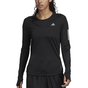 adidas Own The Run Shirt - Black