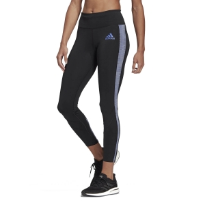 Tight Running Donna adidas Own The Run Primeblue Tights  Black/Semi Night Flash GK4312