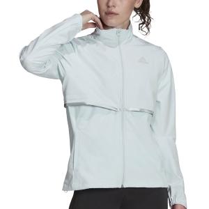 adidas Own The Run Soft Shell Jacket - Halo Blue