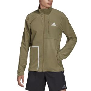 adidas Own The Run Soft Shell Chaqueta - Focus Olive
