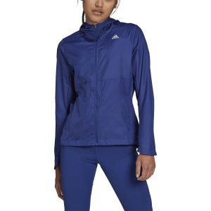 adidas Own The Run Wind Jacket - Victory Blue
