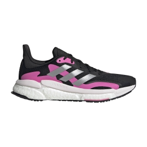 adidas Solar Boost 3 - Core Black/Screaming Pink/Halo Silver