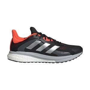 adidas Solar Glide 4 ST - Core Black/Grey Two/Solar Red