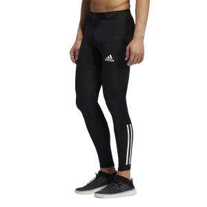 adidas Techfit 3 Stripes Tights - Black