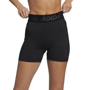 adidas Techfit Brand 3in Shorts - Black/White