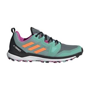 Adidas Terrex Agravic - Hazy Emerald/Screaming Orange/Screaming Pink