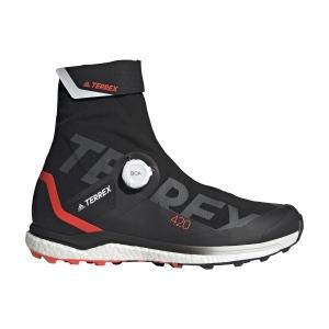 adidas Terrex Agravic Tech Pro - Core Black/Ftwr White/Solar Red