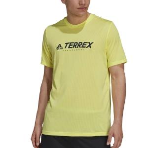 adidas Terrex Primeblue T-Shirt - Pulse Yellow