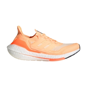 Zapatillas Running Neutras Mujer adidas Ultraboost 21  Acid Orange/Ftwr White/Cream White FZ1917