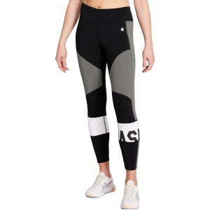 Women's Fitness & Training Pants and Tights Asics Color Block Tights  Performance Black/Carbon 2032A410003