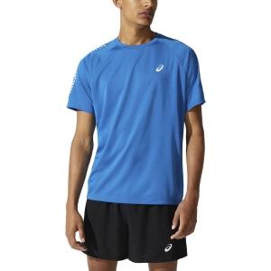 Asics Icon Logo T-Shirt - Reborn Blue/Brilliant White