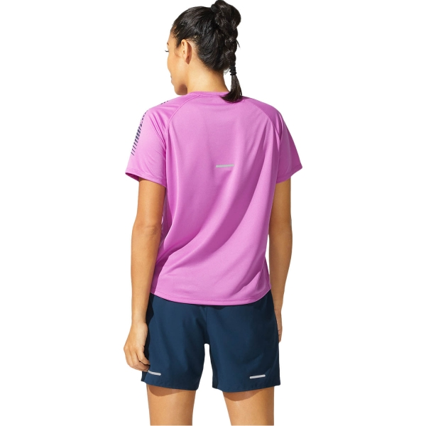 Asics Icon T-Shirt - Digital Grape/French Blue