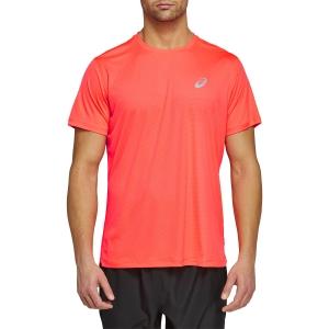 Asics Silver T-Shirt - Flash Coral