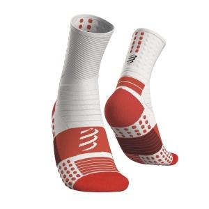 Compressport Pro Marathon Socks - White