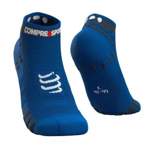Compressport Pro Racing V3.0 Run Low Calze - Blue Lolite