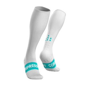 Compressport Race Oxygen Calcetines - White