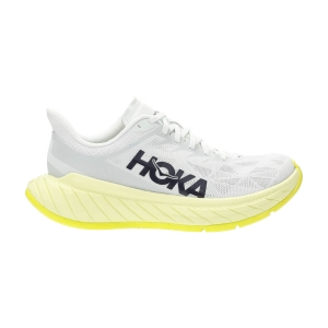 Zapatillas Running Performance Mujer Hoka One One Carbon X 2  Blue Flower/Luminary Green 1113527BFLG