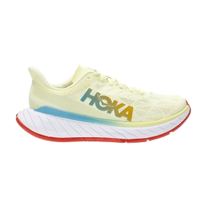 Hoka One One Carbon X 2 - Luminar Green/Hot Coral