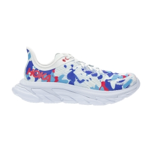 Hoka One One Clifton Edge Geometric - Ballad Blue/Blue Flower