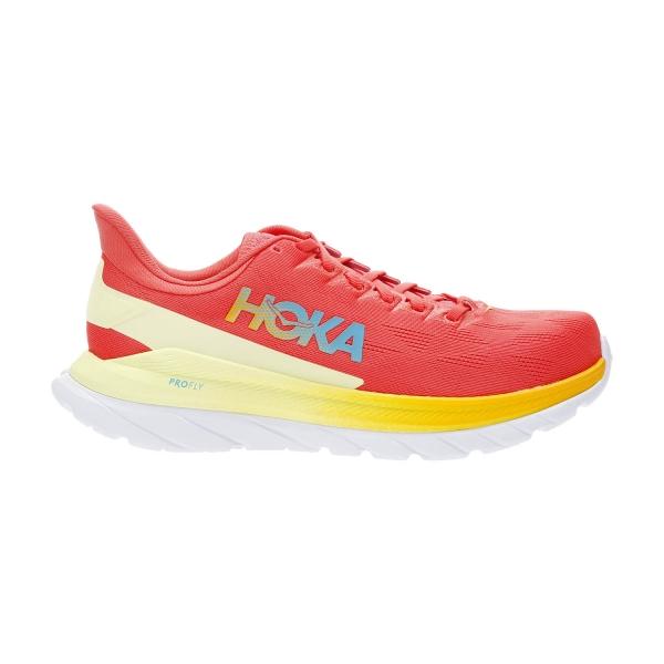 Hoka One One Mach 4 - Hot Coral/Saffron