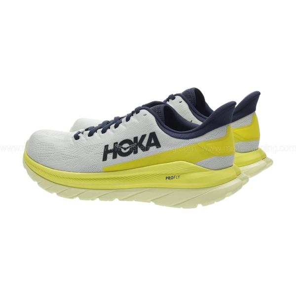 Hoka One One Mach 4 - Blue Flower/Citrus