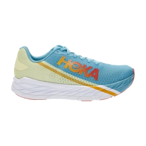 Hoka One One Rocket X - Scuba Blue/Luminary Green
