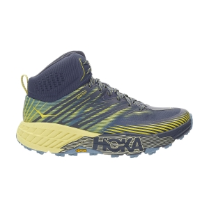 Men's Outdoor Shoes Hoka One One Speedgoat Mid 2 GTX  Ombre Blue/Blue Sheen 1106532OBBS