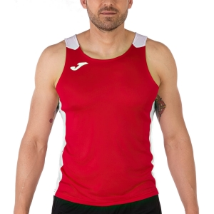 Joma Record II Top - Red/White