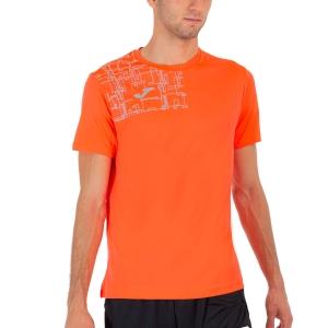 Joma Elite VIII Logo Maglietta - Fluor Coral