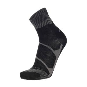 Mico Warm Control Merino Light Weight Socks - Nero/Grigio